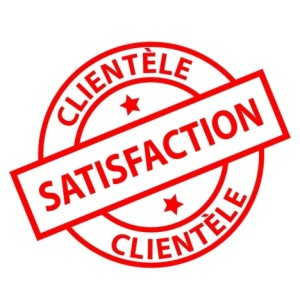 satisfied client