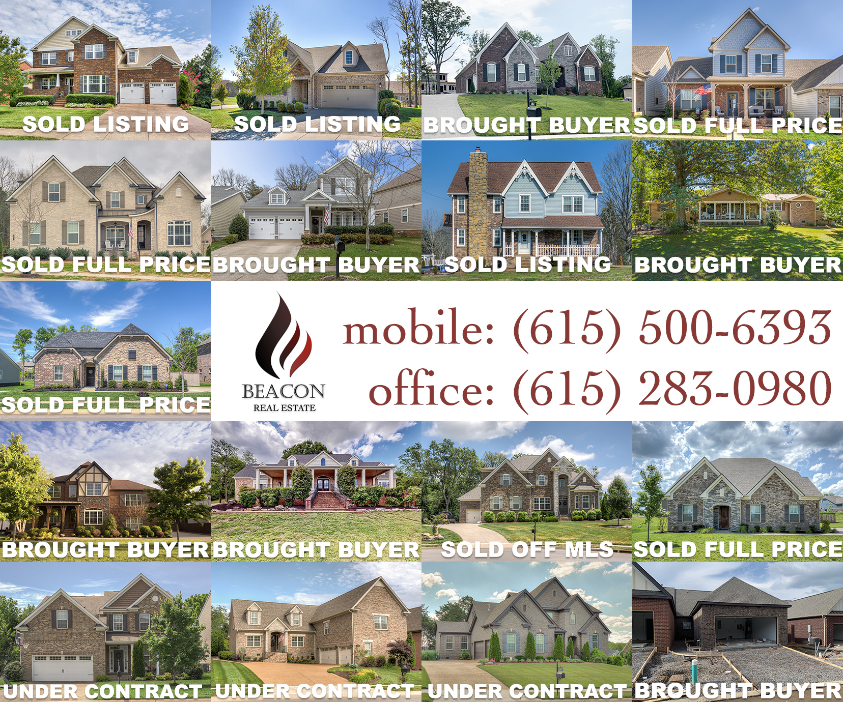 Flint Adam - Nolensville 2020 Home Sales Through June